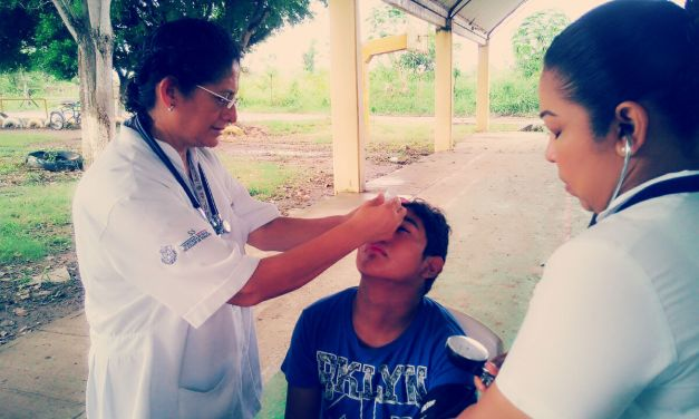 Ofrece DIF Y Jurisdicción Brigada Para Combatir Conjuntivitis Y Dermatitis