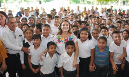 Leticia Márquez, en el Totonacapan.