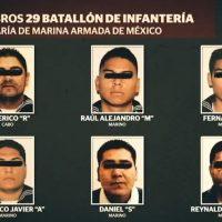 Elementos de la marina detenidos por secuestro