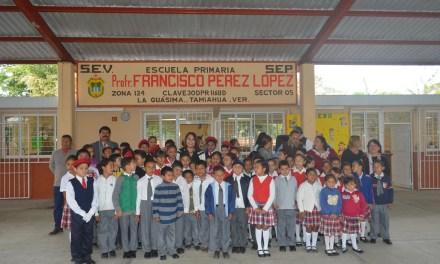Citlali Medellín, amiga leal de los niños y la educación: Tamiahua