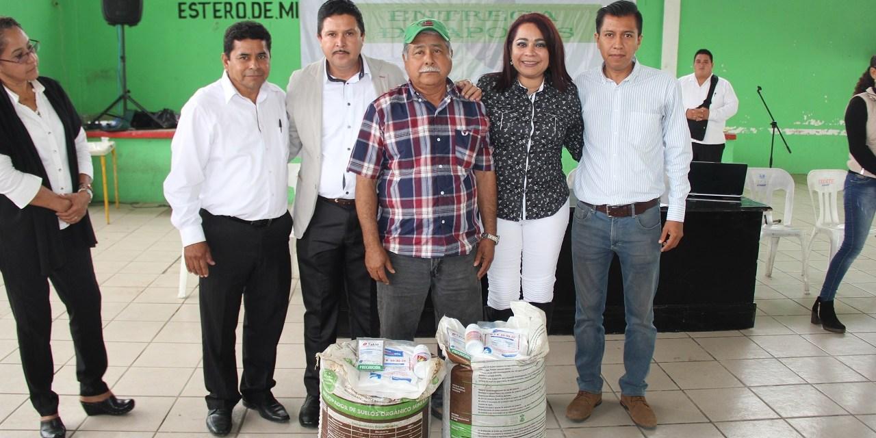 Reciben productores apoyos para el campo: Tamiahua