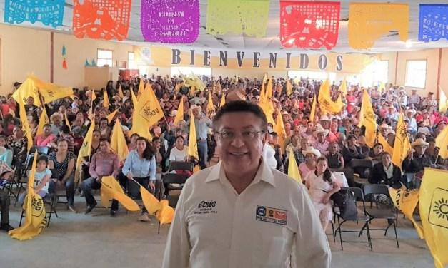 Seré un digno representante de los huastecos: Jesús Guzmán