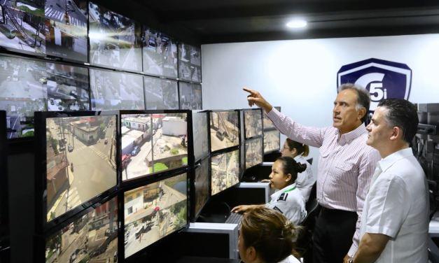 Más de 6 mil cámaras estarán al servicio de los veracruzanos en todo el estado: Yunes