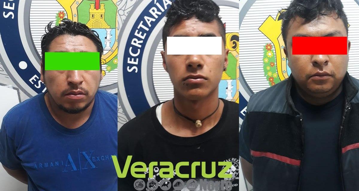 Huayacocotla: Detienen a 3 presuntos Huachicoleros