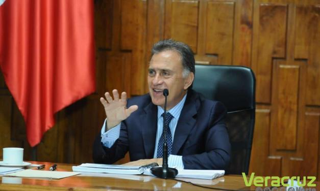 Anuncia Gobernador Yunes la recuperación de mil 522 millones de pesos