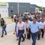 Yunes entrega clínica-hospital que beneficiará a miles de indígenas