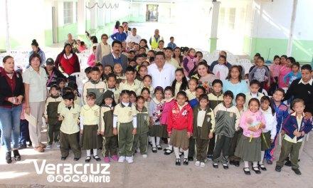Inversión de más de 600 mil pesos para la escuela 18 de Marzo