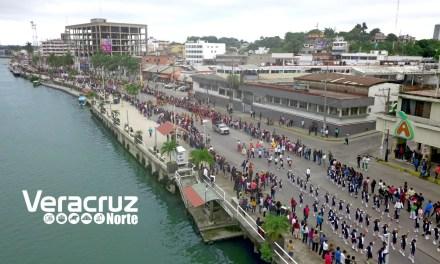 Espectacular desfile conmemorativo al 108 Aniversario de la Revolución Mexicana