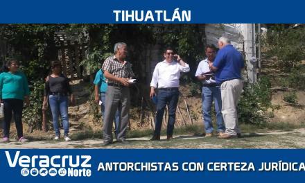 Habitantes de la Antorchista tendrán certeza jurídica
