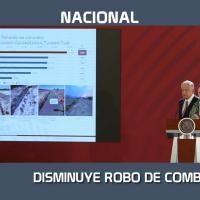 DISMINUYE 95 POR CIENTO EL ROBO DE COMBUSTIBLE EN MÉXICO E INCREMENTA PRODUCCIÓN DE CRUDO