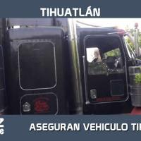 ARMADA DE MÉXICO ASEGURÓ UN VEHÍCULO TIPO TORTON CON APROXIMADAMENTE 25 MIL LITROS DE HIDROCARBURO