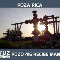 POZO 416 RECIBE MANTENIMIENTO
