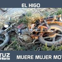 MUERE MUJER MOTOCICLISTA