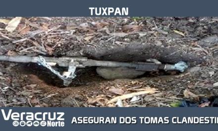 ARMADA DE MÉXICO LOCALIZA Y ASEGURA DOS TOMAS CLANDESTINAS