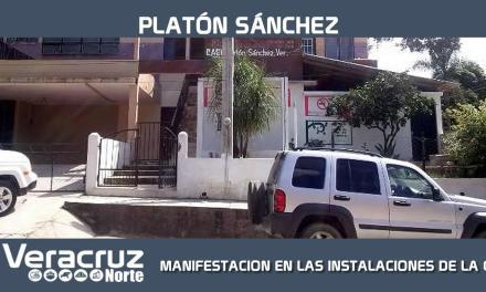 MANIFESTACION EN LAS INSTALACIONES DE LA CAEV