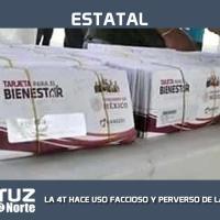 """LA 4T HACE USO FACCIOSO Y PERVERSO DE LAS BECAS """"BENITO JUÁREZ"""""""