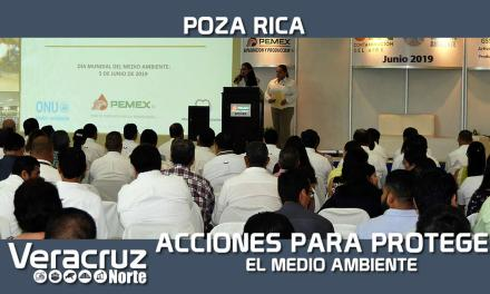 Promueve Pemex acciones para la protección del medio ambiente