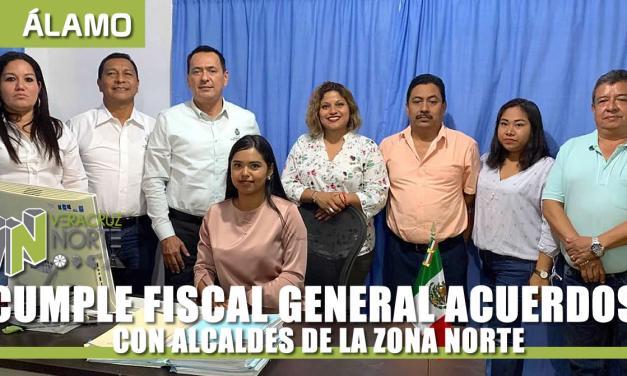 CUMPLE FISCAL ACUERDOS CON ALCALDES DE LA ZONA NORTE