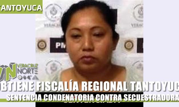 OBTIENE FISCALÍA TANTOYUCA SENTENCIA CONDENATORIA