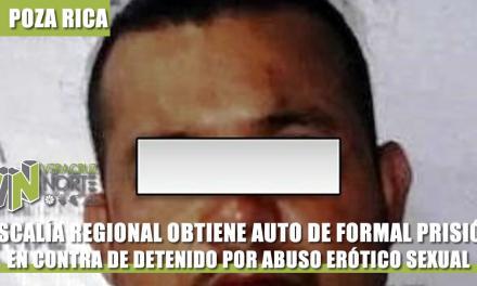 FISCALÍA REGIONAL OBTIENE CONTRA AUTO DE FORMAL PRISIÓN