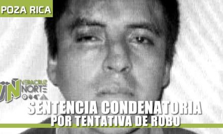 SENTENCIA CONDENATORIA POR TENTATIVA DE ROBO