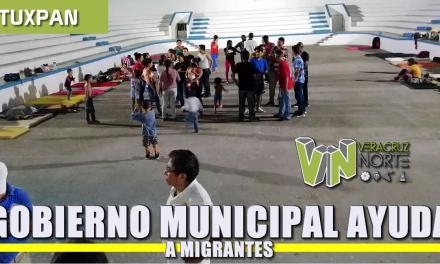 Gobierno Municipal proporciona ayuda a migrantes