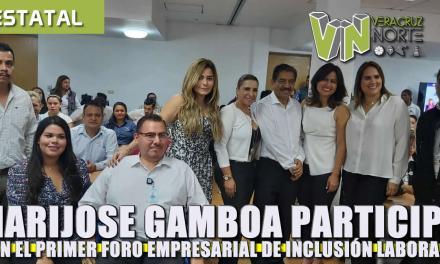 Participa Maryjose Gamboa en Primer Foro Empresarial de Inclusión Laboral