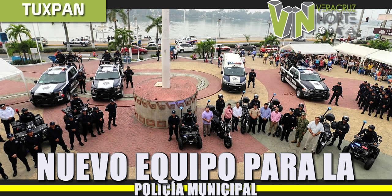 Nuevo Equipo para la Policía Municipal