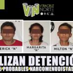 Legalizan Detenciones de 5 probables narcomenudistas