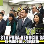Propuesta para reducir salarios en manos del congreso