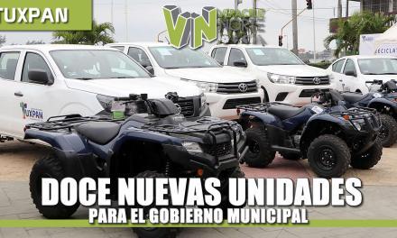 12 nuevas unidades para EL Gobierno Municipal