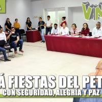 Habrá Fiestas del Petróleo con Alegría, seguridad y paz: Carballo Vicencio