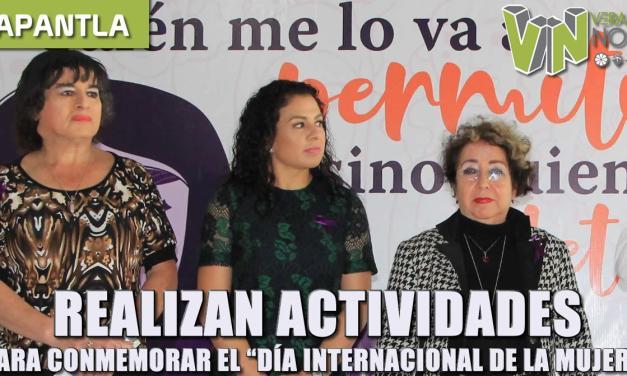realizan actividades para conmemorar el «día internacional de la mujer»