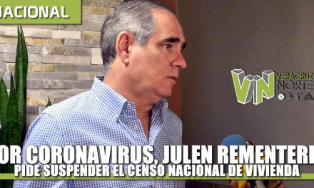 Por Coronavirus, Julen Rementería pide suspender el Censo Nacional de Vivienda