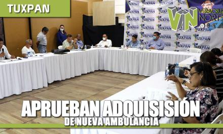 APRUEBAN ADQUISICIÓN DE NUEVA AMBULANCIA DE ÚLTIMA GENERACIÓN, INCREMENTO DE 3 MDP AL FONDO DE CONTINGENCIA Y PRESUPUESTO PARA CASAS DE ENLACE