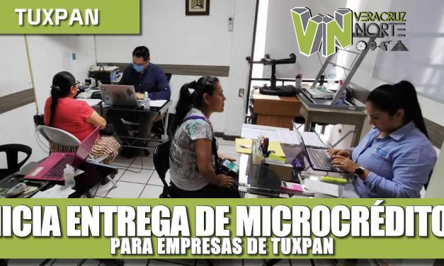 INICIA ENTREGA DE MICRO CRÉDITOS PARA EMPRESAS DE TUXPAN