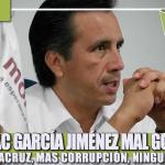 CUITLÁHUAC GARCÍA JIMÉNEZ MAL GOBERNANTE, LA 4T EN VERACRUZ, MAS CORRUPCIÓN, NINGUNA SOLUCIÓN