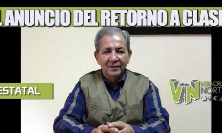 EL ANUNCIO DEL RETORNO A CLASES