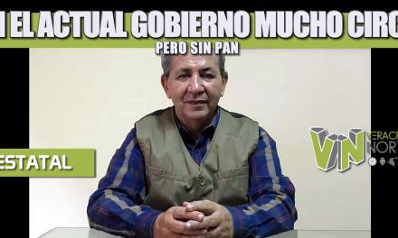 EN EL ACTUAL GOBIERNO MUCHO CIRCO, PERO SIN PAN