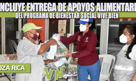 CONCLUYE ENTREGA DE APOYOS ALIMENTARIOS DEL PROGRAMA DE BIENESTAR SOCIAL VIVE BIEN