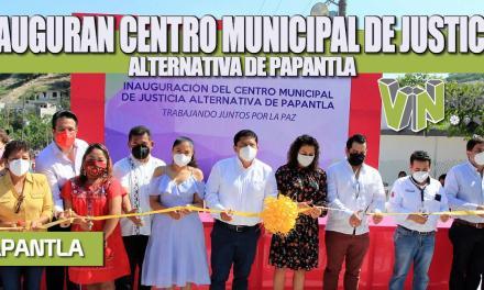 INAUGURAN CENTRO MUNICIPAL DE JUSTICIA ALTERNATIVA DE PAPANTLA