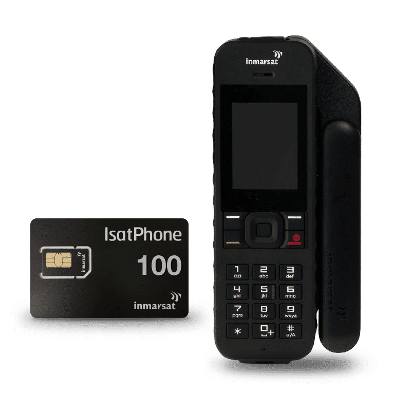 Pack Inmarsat IsatPhone 2 with SIM card and units