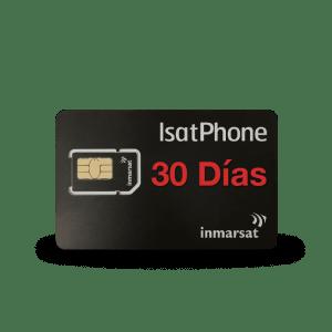 inmarsat isatphone 30 days