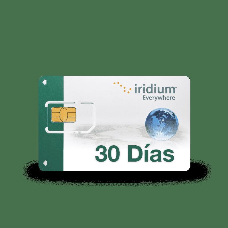 Recarga tarjeta SIM Iridium