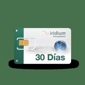 Recarga su tarjeta SIM Iridium
