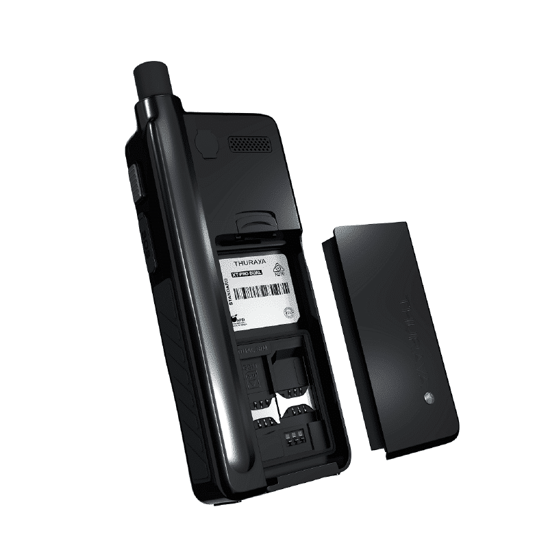 Thuraya Satsleeve+ back