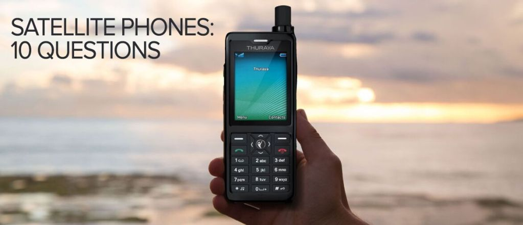 Satellite Phones: 10 questions revealing the most about them
