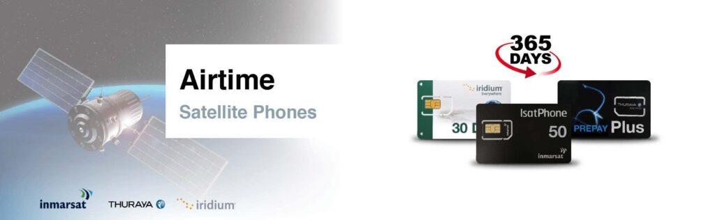 Airtime Satellite Phones