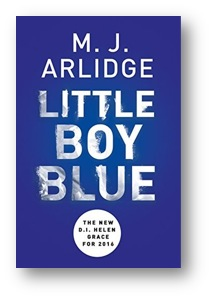 Little Boy Blue by M. J. Arlidge, Cover