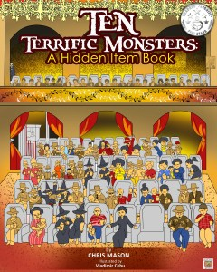 Ten Terrific Monsters by Chris Mason